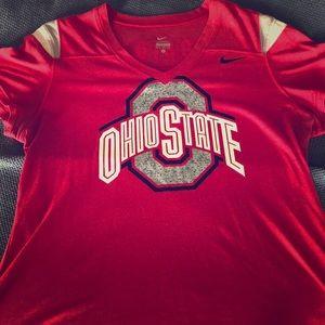 Ladies SS Ohio State top- super soft!